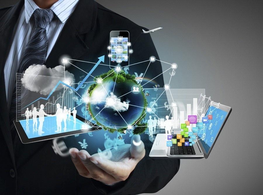 Online advertising digital cloud